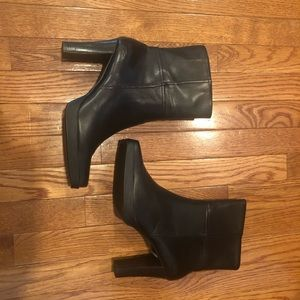 NEW SKETCHERS SQUARE TOED ANKLE BOOTS
